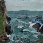 Isobel Brigham - Cliff Cape Cornwall 2002