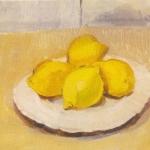 Isobel Brigham - Lemons on a Plate 1999