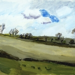Isobel Brigham - Ridge of Trees Hartland North Devon 2004
