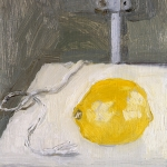 Isobel Brigham - Still Life Lemon and A Piece of String 2003