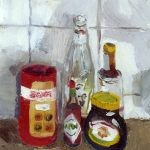 Isobel Brigham - Still Life with Marmite 2000