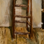 Isobel Brigham - Stool in the studio 1996