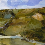 Isobel Brigham - View from Treskelly Farm Port Eliot 2000